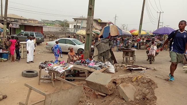 Abule Egba market