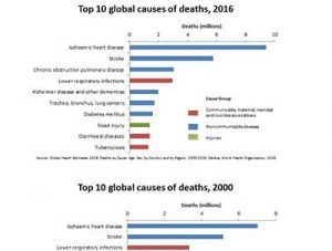 leading causes of death are lifestyle-related