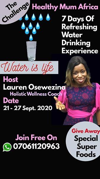 Water Challenge #waterchallenge