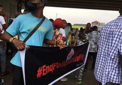 #EndSARS Protests in Nigeria