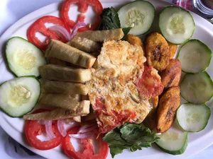 Yam, Plantain And Vegetables