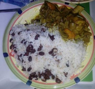 rice and red kidney Beans