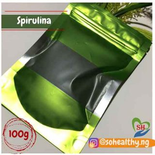 spirulina 100 gram in nigeria