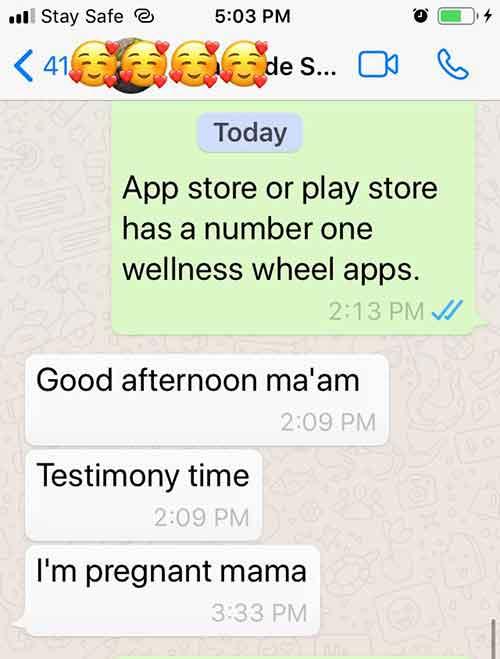 pregnancy testimonial natural conception remedies