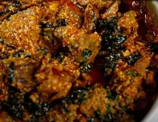 Egusi Soup For Rice