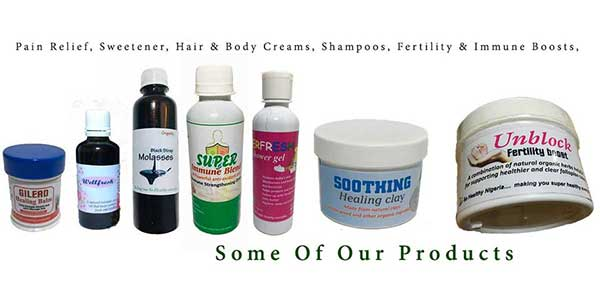 Natural health products shop in Nigeria