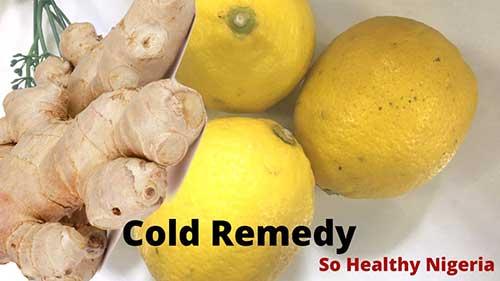 cold remedy. Ginger vs lemon